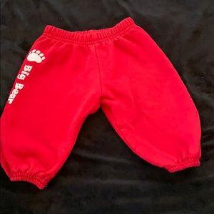 American apparel baby sweats big bear 18-25 months